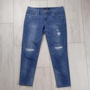 White House Black market. Size 8 girlfriend jeans